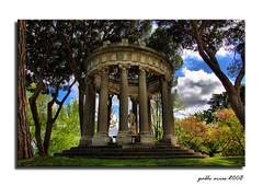 Templo de Baco (The Bacos temple) (Pablo Arias) Tags: madrid arte nikond50 hdr parquedelcapricho edificiosymonumentos
