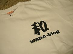 WADA-blog Tシャツ
