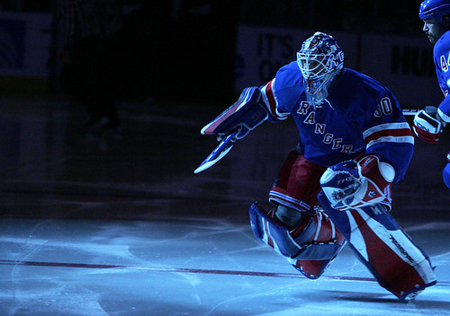 King Henrik takes the ice