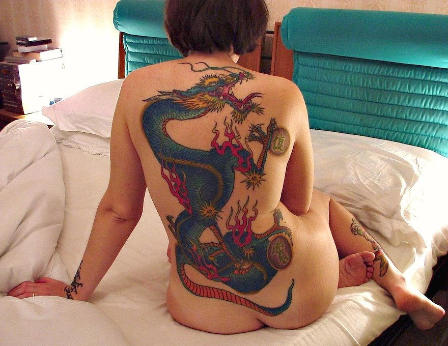 elisa dragon tattoo session six (final?)