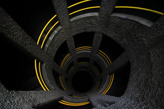 Black down (Stranju) Tags: black italia torre hole wide volterra down toscana blackhole spirale giu basso sigma1020mm discesa scendere explore187 tortiglione partyroma28