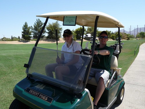 Nothing more fun then to take golf car for a proper ride!