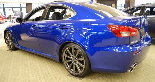 Lexus Isf Blue. Blue Lexus ISF