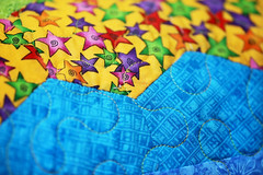 52 in 2017 Challenge - #38 - Material (crafty1tutu (Ann)) Tags: challenge 52in2017challenge 38material material cotton patchwork sewing handmade colourful colour fabric star yellow blue yellowandbluearemyfavouritecolours crafty1tutu canon180mm35lseriesmacrolens canon1dx anncameron