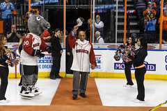 "Missouri Mavericks vs. Quad City Mallards, February 18, 2017, Silverstein Eye Centers Arena, Independence, Missouri.  Photo: John Howe / Howe Creative Photography • <a style=""font-size:0.8em;"" href=""http://www.flickr.com/photos/134016632@N02/32654241130/"" target=""_blank"">View on Flickr</a>"