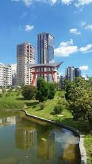 Japonese garden in Brazil (elianek) Tags: garden japonese oriental japan japones jardim natureza nature green verde saojosedoscampos brasil brazil urban