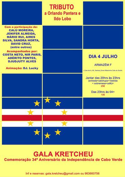 Gala Kretcheu - 34º Aniversário da Independência