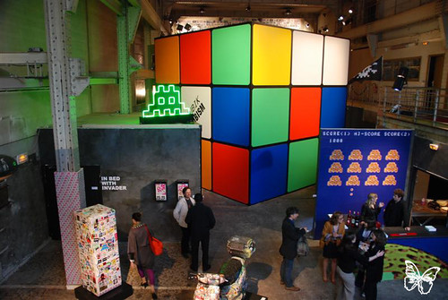 "Space Invader ""INVADER 1000″ Exhibition"