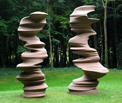 Tony Cragg Here Today Gone Tomorrow (khanrizzi) Tags: park sculpture art stone statues goodwood tonycragg
