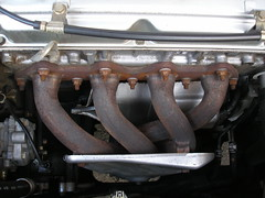 2003 engine mitsubishi exhaust manifold outlander