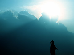 To Beseech Thee (The Wandering Angel) Tags: light sky sun poetry faith philippines prayer thoughts filipino tagaytay pinoy ruminations blueribbonwinner supershot