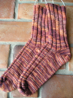 FO Sugarplum Socks