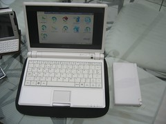 Asus EEE PC and a DS Lite