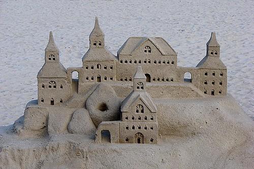 Castelo de areia / Sand castle