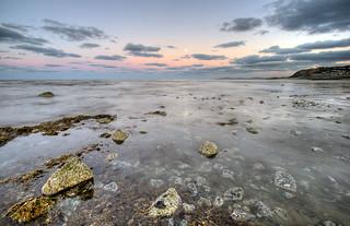 Retreating Sea