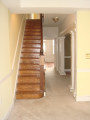 Downstairs Hall and Stairs