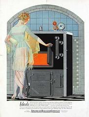 American Radiator Company Ad, 1921
