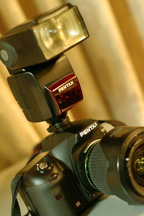 PENTAX AF540FGZ with K10D