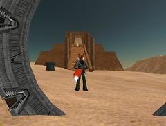 Arrival on a desert planet