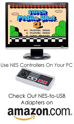 NES to USB Adapter from Amazon.com