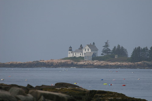 Lighthouse in Frenchman Bay