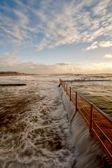 Overflow at Dee Why (sachman75) Tags: bravo 1022mm deewhy rockpools bigsurf seabaths 400d auselite