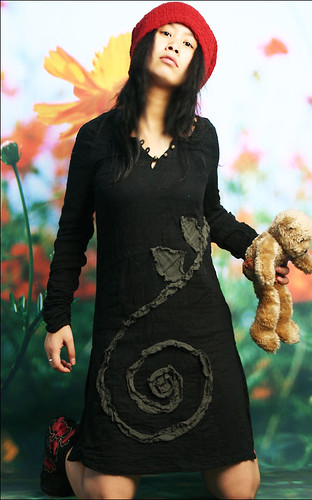 Vietnamese Ao Dai spring tunic dress : Asian iCandy Store, Unique Asian Arts and Gifts From Independent Artists