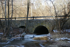 Stone arch culvert, Ellicott City, Maryland
