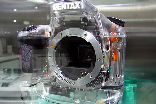 PENTAX K200D Skeleton 01