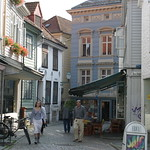 Bergen: Hollendergaten, a street in the Medieval City Centre