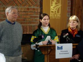Wisconsin Environment Press Conference