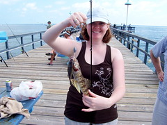 Kelly Caught a Two-Fer!