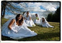 Cuatro bodas y... el funeral? ((Carmen)) Tags: wedding groom bride boda carnaval novia