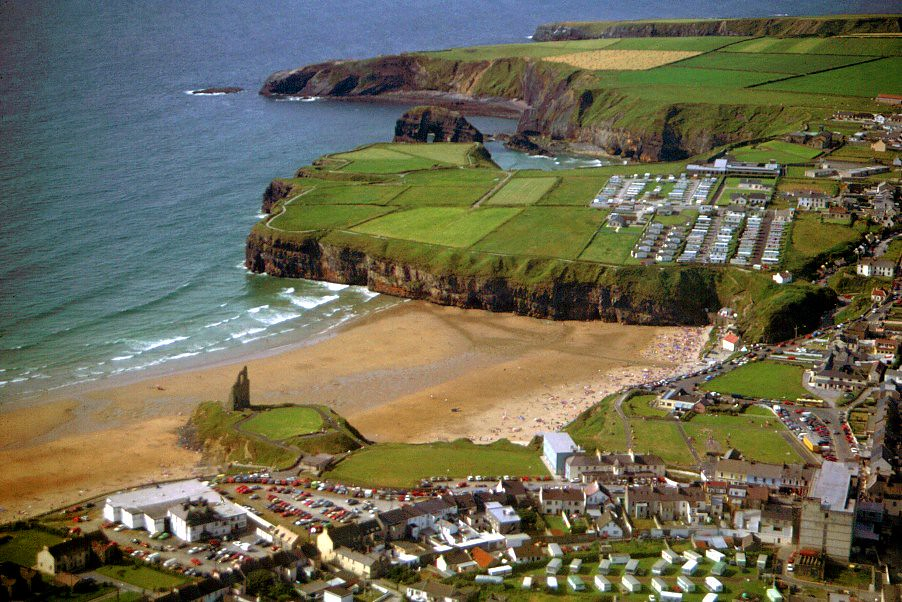 Ballybunion from the Air