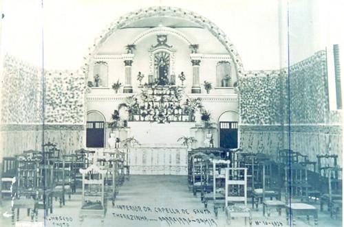 Altar da Capela de Santa Teresinha