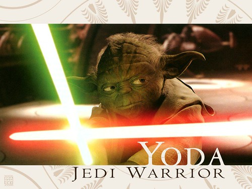 Wallpapers  Star Wars - Yoda Warrior, star wars wallpapers, starwars enterprise voyage