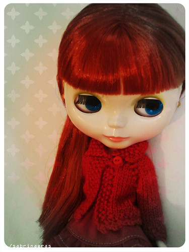 Candy - The girl in red by Sabrina Eras.