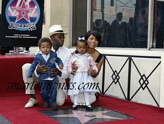 Angela Bassett star on  hollywood walk of fame 2