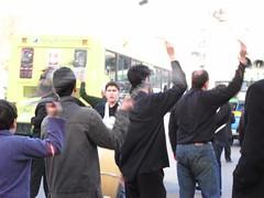 Imam Hossain ceremony in Tehran
