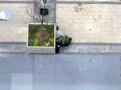 Bomb Expert in Action III (bluemagoo) Tags: brooklyn suitcase bombscare downtownbrooklyn bombsquad metrotech bombscarebrooklyn