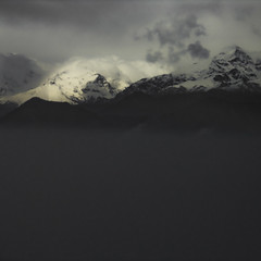 Tempesta (Lumase) Tags: italy storm black mountains alps nature fog clouds square poetry poem searchthebest awe dickinson tempesta mywinners superbmasterpiece theperfectphotographer