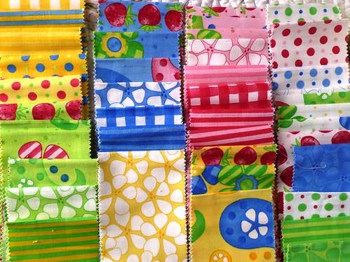 Moda fabric roll