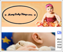 Manybabythings.com get a post from a guest blogger on the Quicken Loans blog