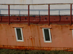 Room with a view (Elsie esq.) Tags: sussex boat mud houseboat barge adur shoreham