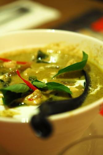 Green curry chicken - DSC_2724