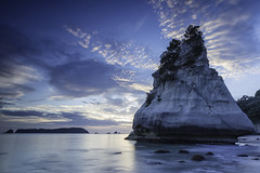 "_MG_0857_""The Blue Hour"" (lee.45) Tags: tehohorock cathedralcove coromandel northisland newzealand landscape canoneos6d travelphotography travel beach seascapes"