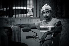 Gypsy (Raja V) Tags: wanderer narikurava bw gypsy india chennai photowalk thiruvanmiyur blackwhite