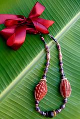 african jewelry (Mzuri beads) Tags: bananaleaf barkcloth cowhorn paperbeads ethicalfashion ribbonnecklace recycledjewelry fairtradejewelry naturalbeads fairtradebeads ugandanbeads ecojewellery ethicalbeads mzuribeads ugandanjewelry kirstiemaclean