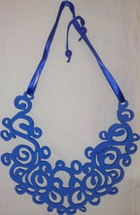Arabesco (VicheMaria) Tags: necklace inverno colar colares colarartesanal