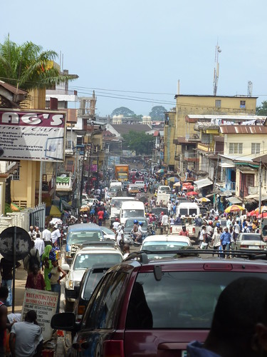 Market in Freetown